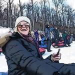 Noelle Snow Tubing